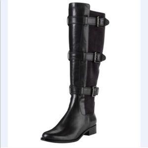 Cole Haan Avalon Nike Air Tall Black Riding Boots